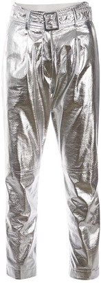 Bouguessa Silver Trousers for Women