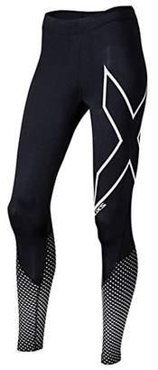 2XU Wa4612b Women's Compression Pant, Womens, WA4612b-BLK/SRF