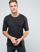 Sisley T-Shirt With Back Raglan Detail