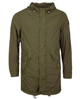 Belstaff Fernhill Garment Dye Parka Colour: MOSS, Size: MEDIUM