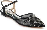 Badgley Mischka Collection Carissa Embroidered Flat