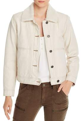 Joie Lev Sherpa-Collared Jacket