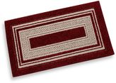Bed Bath & Beyond Double Border 2-Foot x 5-Foot Accent Rug in Garnet
