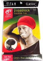 Titan Classic Dreadlock Stocking Cap [Brown] 2 pieces, Kufi cap, rasta, afro, thick and thin. Spandex, bandana, turban, bonnet, one size fits all, men and women, boys and girls, adults and kids, jumbo, long, for all hair styles and types, skull cap, beanie