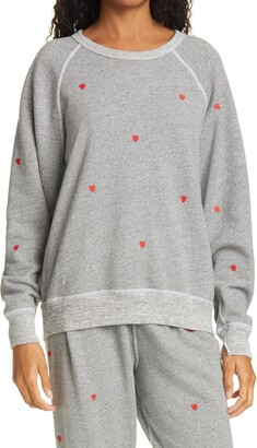 The Great Heart Embroidered The College Sweatshirt