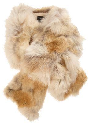 Barneys New York Fur Pull-Through Scarf