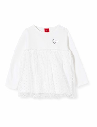 S'Oliver Baby Girls' 59.911.31.7685 Long Sleeve Top