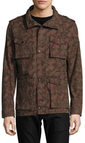 Epaulette Shoulder Multipocket Jacket