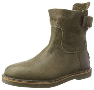 Shabbies Women's Slouch Boots, (Olive Brown 3032)
