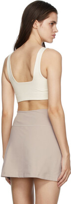 Girlfriend Collective Off-White Tommy Sports Bra