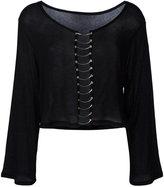 IRO Charlee blouse - women - Polyurethane/Lyocell - XS
