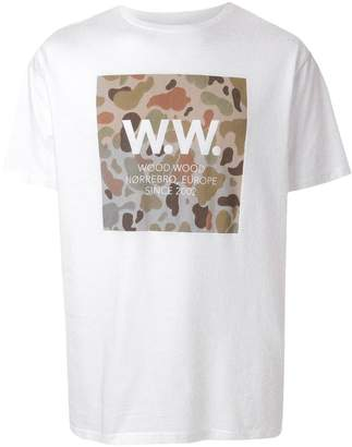 Wood Wood WW Square relaxed-fit T-shirt