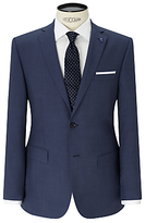Daniel Hechter Textured Marl Tailored Fit Suit Jacket, Blue
