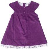 Jo-Jo JoJo Maman Bebe Pretty Cord Dress (Baby) - Plum-0-3 Months