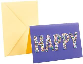 "Hallmark Signature Birthday ""Happy Sprinkles"" Greeting Card"