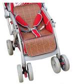 Black Temptation Summer Carts Mats Reusable Stroller Bamboo Mats Liner for Stroller