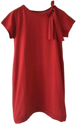 Douuod Red Cotton Dresses