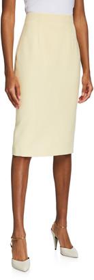 Alexander McQueen Midi Pencil Skirt