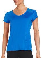 Calvin Klein Mesh-Accented Athletic Tee