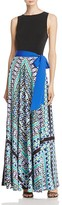 Eliza J Printed Maxi Dress
