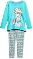 Nannette Disney's Frozen 2-Pc. Top & Leggings Set, Toddler Girls (2T-5T) & Little Girls (2-6X)