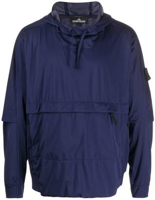 Stone Island Shadow Project hooded sports jacket