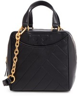 Tory Burch Mini Alexa Leather Satchel - Black