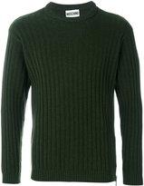 Moschino crew neck sweater - men - Silk/Cashmere/Virgin Wool - 46