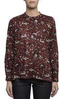 Etoile Isabel Marant Bordeaux Cotton Shirt