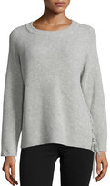 BA&SH Minus Wool/Cashmere-Blend Ribbed Sweater
