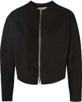 3.1 Phillip Lim Metallic coated jersey jacket