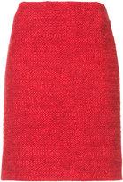 Akris Punto bouclé-tweed skirt