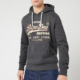 Superdry Men's Vintage Label Sweat Shirt Store Infill Hoody