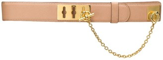 Céline Pre Owned 1990s Pre-Owned Toggle Chain Belt