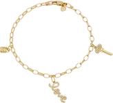 Sydney Evan 3 Love Charm Bracelet