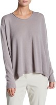 Inhabit Luxe Swing Crew Neck Cashmere Sweater