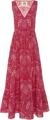 Figue Indira Printed Cotton Maxi Dress