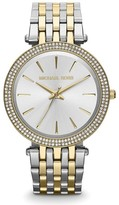 Michael Kors Darci Silver Dial Two-Tone 39mm Watch