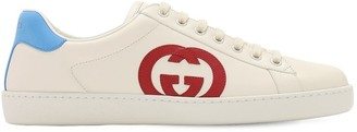 Gucci New Ace Interlocking Gg Leather Sneakers