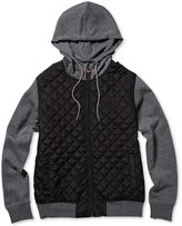 Element Men's Tadler Colorblocked Quilted Hoodie
