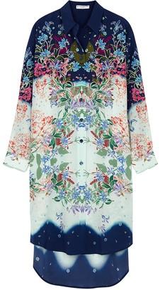 Givenchy Printed Silk Shirt Dress