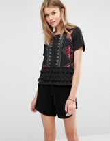 Vero Moda Top with Tassels