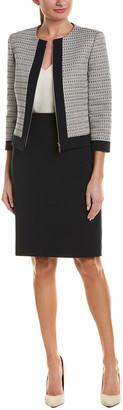 Tahari by Arthur S. Levine Tahari Asl Jacket & Skirt Suit Set