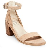 SoHo Cobbler Women's Soho Cobbler Serene Suede Quarter Strap Sandals