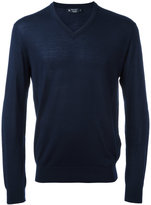 Hackett V-neck jumper - men - Merino - S