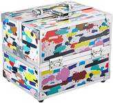 Caboodles Adored Four Tray Makeup Train Case