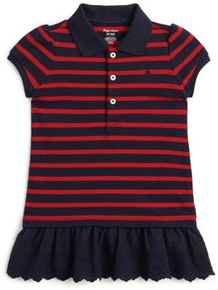 Ralph Lauren Kids Cotton Polo Shirt Dress