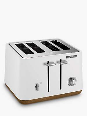 Morphy Richards Aspect 4-Slice Toaster, White