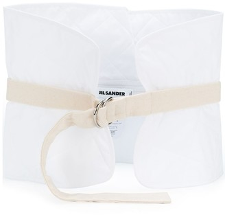 Jil Sander Wide Cotton Belt