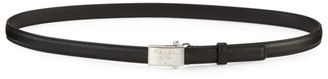 Prada Square Logo Leather Belt